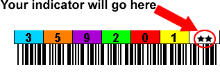 3592 Printed Labels