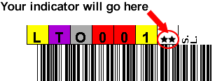 LTO Printed Labels Spectra Logic