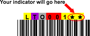 LTO Type 3 Printed Labels